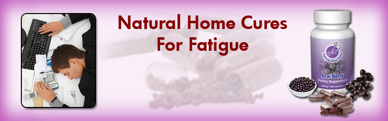 Natural Home Cures Acai Berry For Fatigue