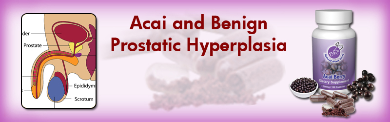 Natural Home Cures Freeze Dried Acai Berry For Benign Prostatic Hyperplasia