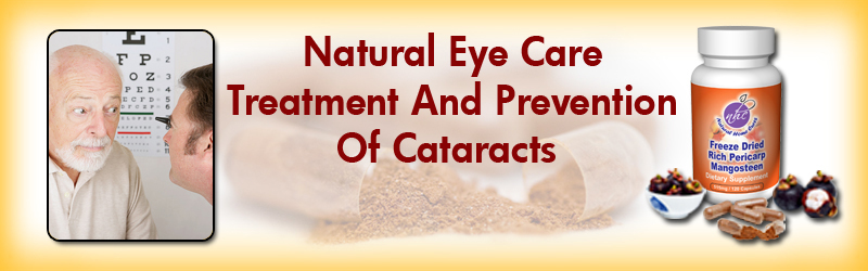 Natural Home Cures Freeze Dried Rich Pericarp Mangosteen For Cataracts