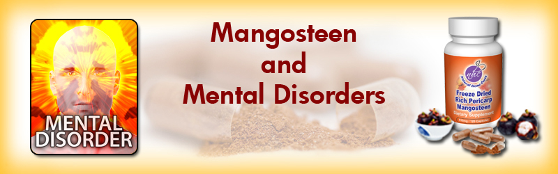 Natural Home Cures Freeze Dried Rich Pericarp Mangosteen For Mental Health Disorders